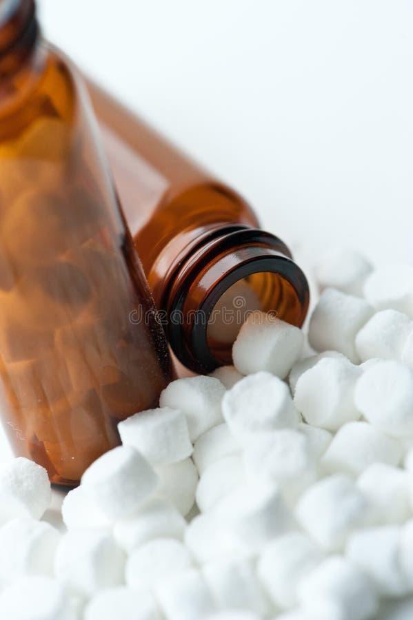 ομοιοπαθητικός ιστός αλάτων στοκ εικόνα