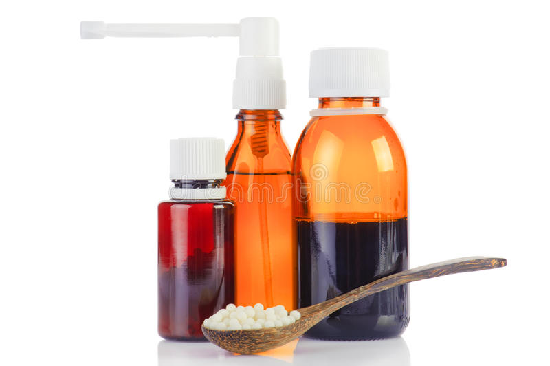 ομοιοπαθητικό φάρμακο στοκ φωτογραφία