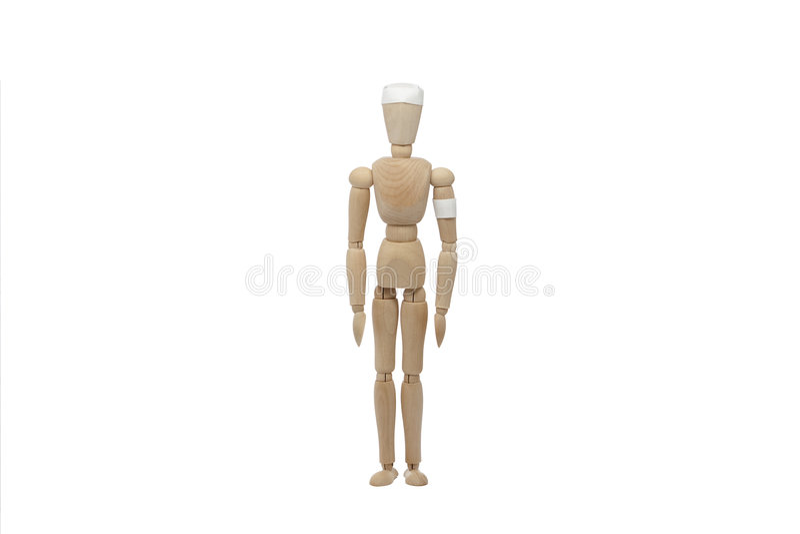 ομοιόμορφος ξύλινος ατόμων στοκ εικόνα με δικαίωμα ελεύθερης χρήσης