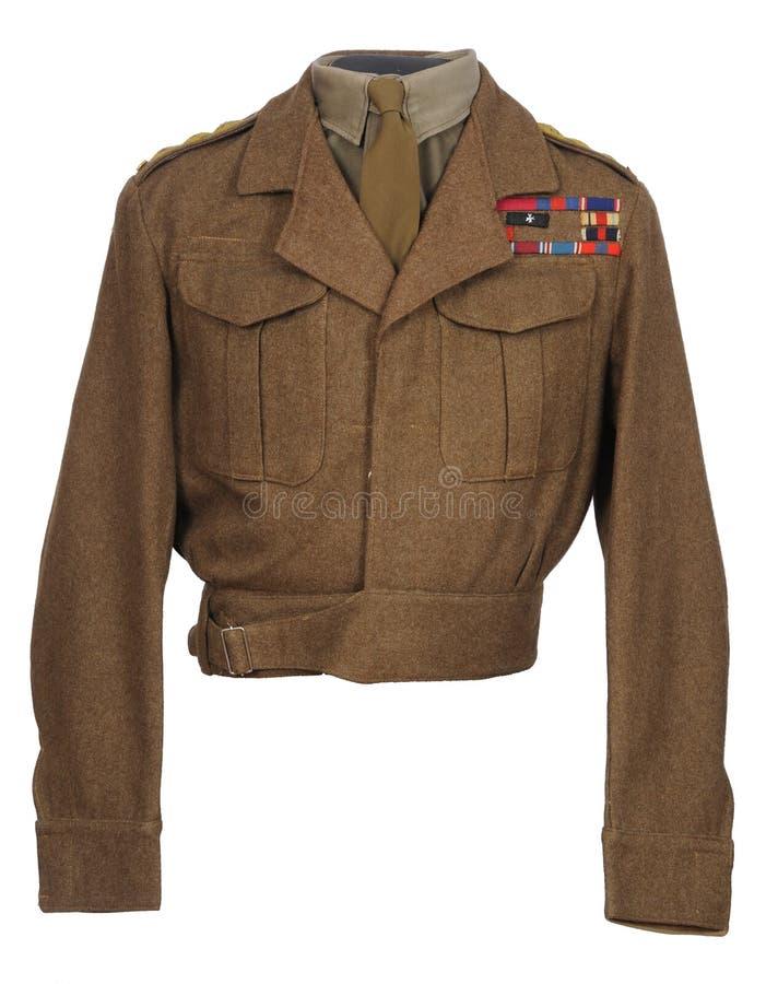 Ομοιόμορφο WW11 του ανώτερου υπαλλήλου ιππικού παγκόσμιου πολέμου 2 στοκ φωτογραφία με δικαίωμα ελεύθερης χρήσης