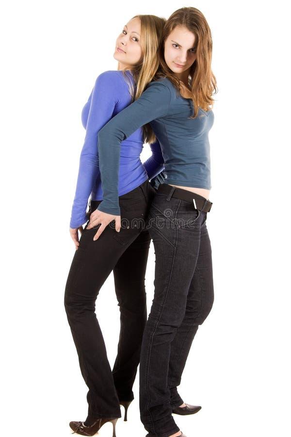 ομορφιά δύο γυναίκα στοκ εικόνες