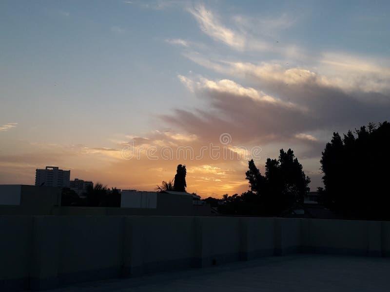 Ομορφιά ενός ηλιοβασιλέματος στοκ εικόνες