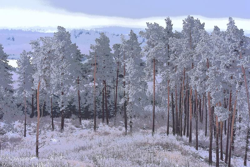 Ομορφιά στη φύση _ Άποψη fom te hillfort στοκ εικόνα με δικαίωμα ελεύθερης χρήσης