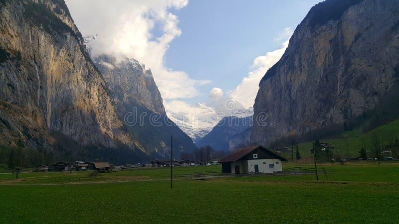 Ομορφιά της Ελβετίας στοκ εικόνα