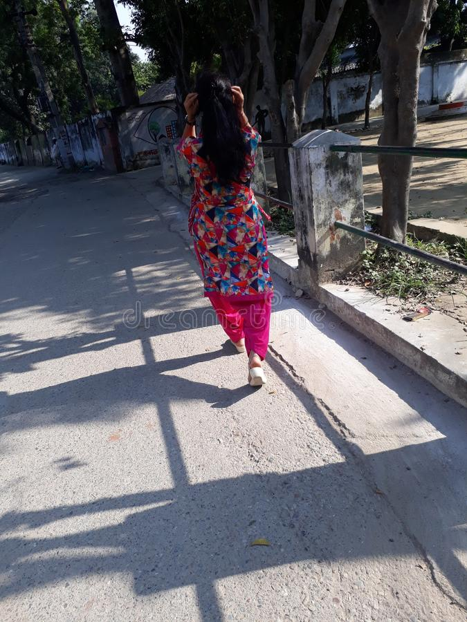 Ομορφιά του ινδικού κοριτσιού στοκ φωτογραφίες