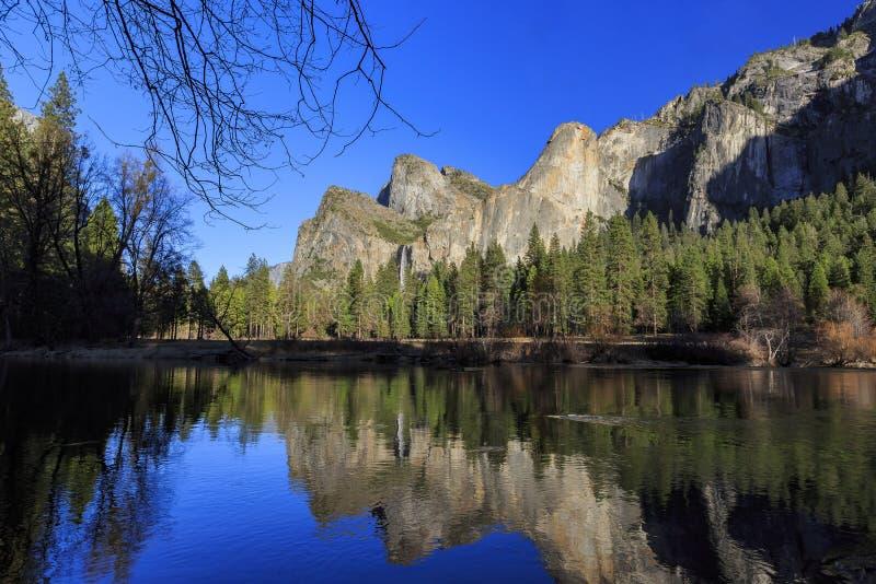 Ομορφιά Yosemite στοκ εικόνες