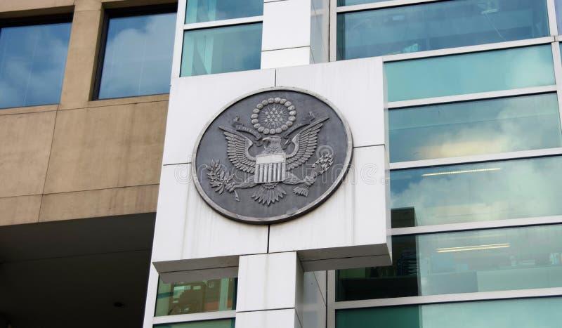 Ομοσπονδιακή κυβέρνηση της Ηνωμένης σφραγίδας στοκ εικόνα