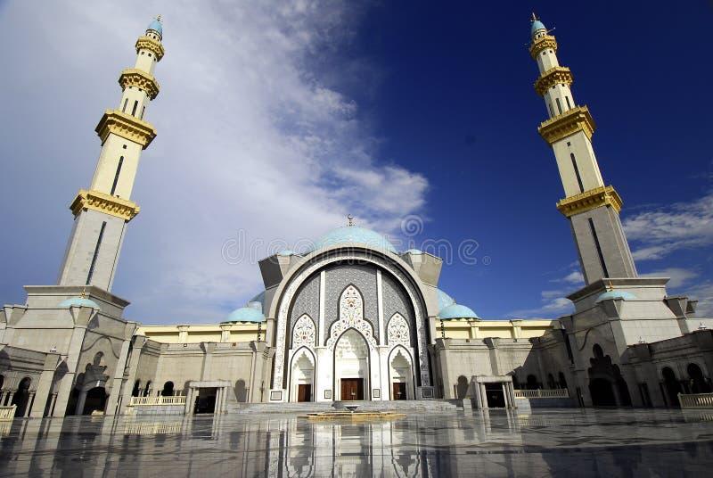 Ομοσπονδιακό μουσουλμανικό τέμενος εδαφών στοκ εικόνα με δικαίωμα ελεύθερης χρήσης