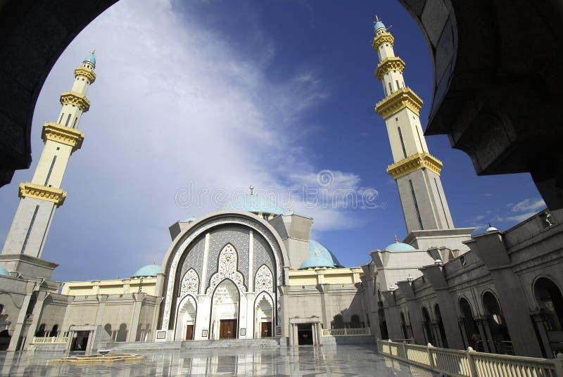 Ομοσπονδιακό μουσουλμανικό τέμενος εδαφών στοκ φωτογραφίες με δικαίωμα ελεύθερης χρήσης
