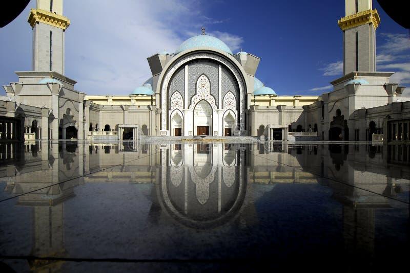 Ομοσπονδιακό μουσουλμανικό τέμενος εδαφών στοκ φωτογραφίες