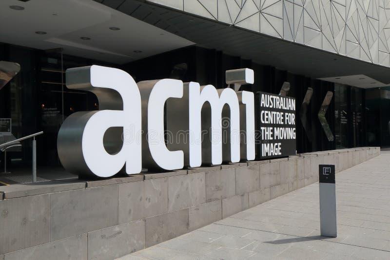 Ομοσπονδία τετραγωνική Μελβούρνη ACMI στοκ εικόνες με δικαίωμα ελεύθερης χρήσης
