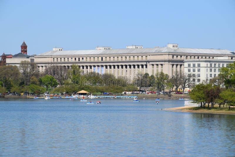 Ομοσπονδιακό κτήριο, Ουάσιγκτον, συνεχές ρεύμα στοκ εικόνες