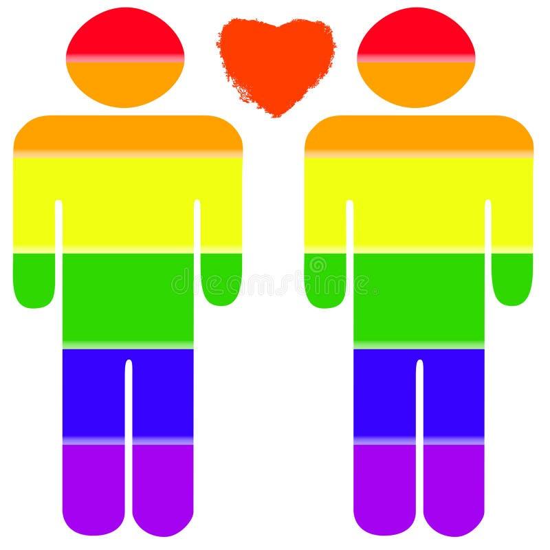 ομοφυλοφιλική υπερηφάν& ελεύθερη απεικόνιση δικαιώματος