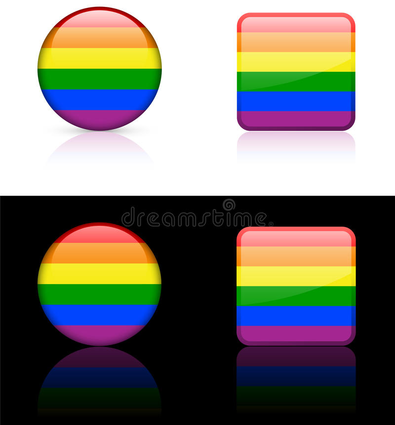 ομοφυλοφιλικός κόσμο&sigmaf απεικόνιση αποθεμάτων
