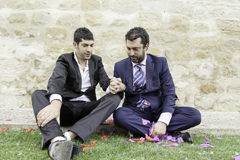 Ομοφυλοφιλική αγάπη ζευγών στοκ φωτογραφίες