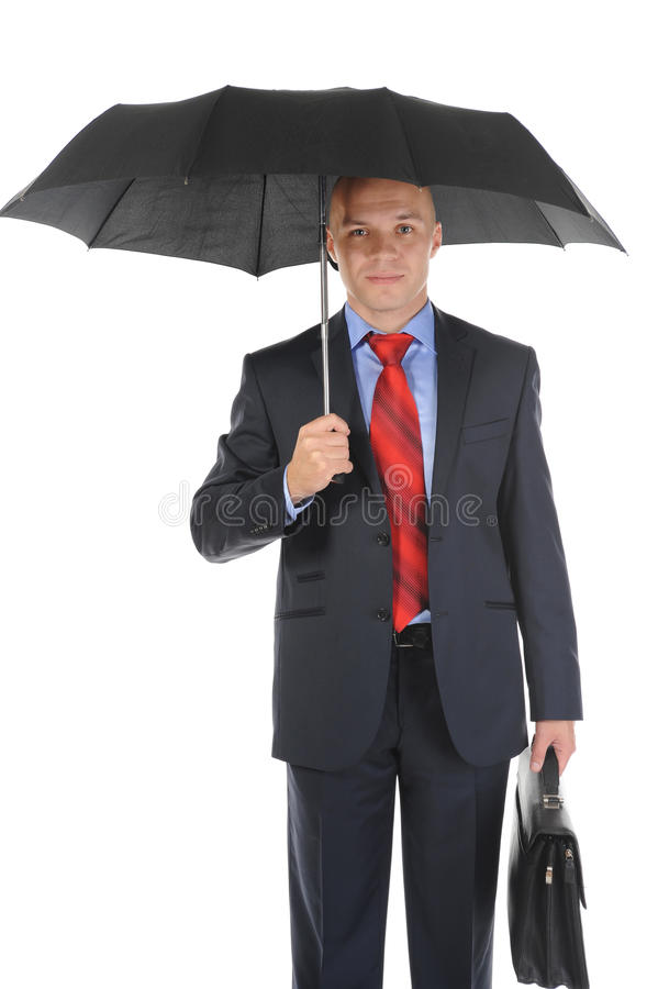 ομπρέλα εικόνας επιχειρ&eta στοκ εικόνα με δικαίωμα ελεύθερης χρήσης