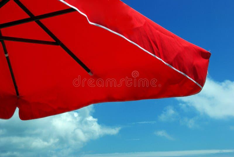 ομπρέλα θαλάσσης στοκ φωτογραφίες
