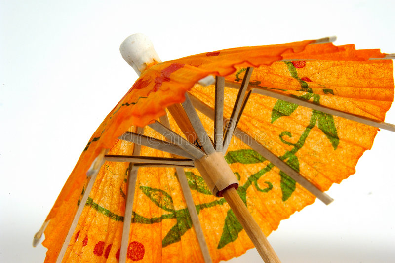 ομπρέλα κοκτέιλ στοκ εικόνα με δικαίωμα ελεύθερης χρήσης