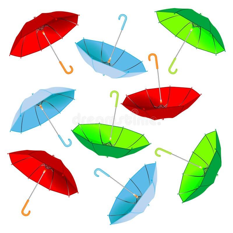 ομπρέλα προτύπων ελεύθερη απεικόνιση δικαιώματος