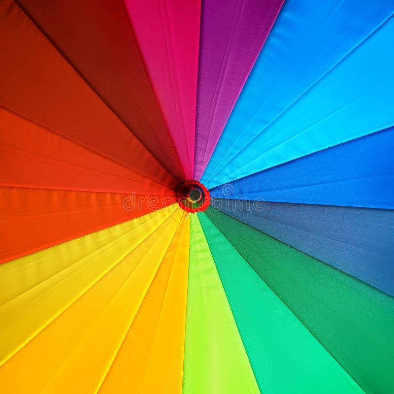 Ομπρέλα χρώματος ως υπόβαθρο στοκ εικόνες με δικαίωμα ελεύθερης χρήσης