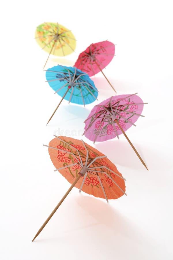 ομπρέλες κοκτέιλ στοκ εικόνες με δικαίωμα ελεύθερης χρήσης