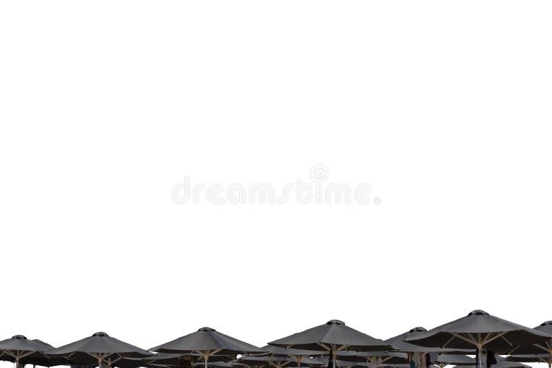 Ομπρέλες παραλίας στοκ φωτογραφίες
