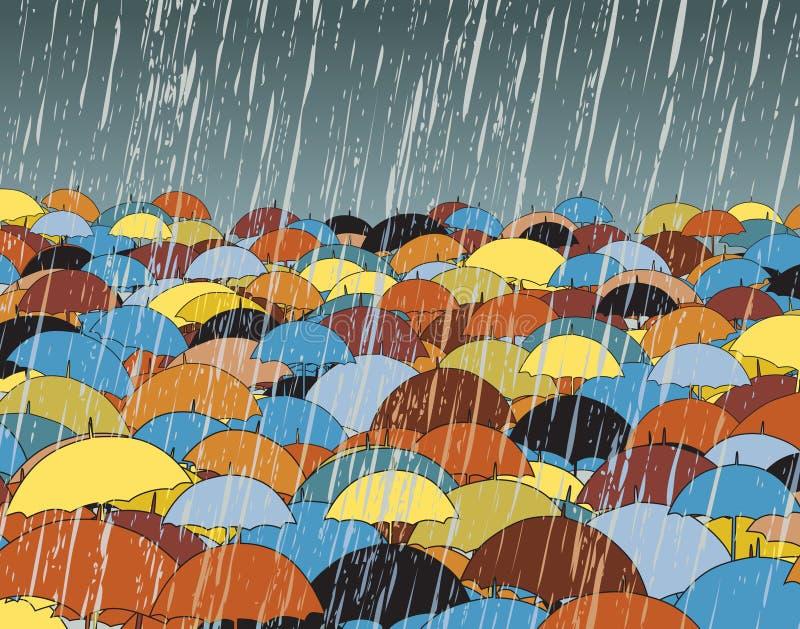 ομπρέλες ελεύθερη απεικόνιση δικαιώματος