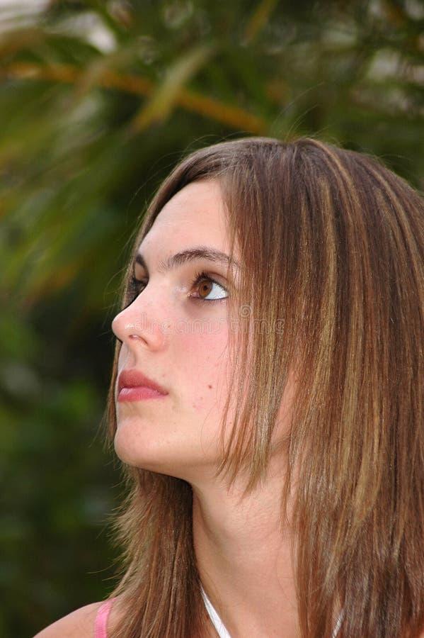 ονειρεμένος κορίτσι ημέρας στοκ εικόνες με δικαίωμα ελεύθερης χρήσης