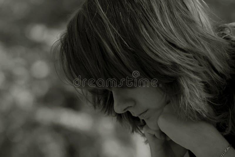 ονειρεμένος κορίτσι στοκ εικόνες