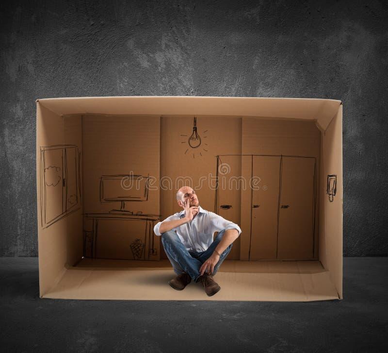Ονειρεμένος μελλοντικό γραφείο στοκ φωτογραφίες