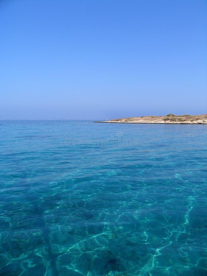 ονειροπόλος θάλασσα στοκ φωτογραφίες