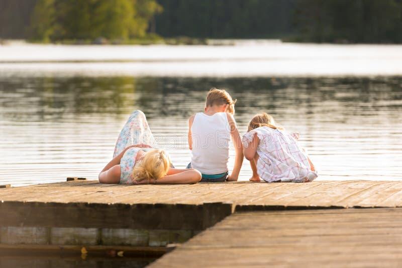 Ονειροπόλο καλοκαίρι! στοκ εικόνες