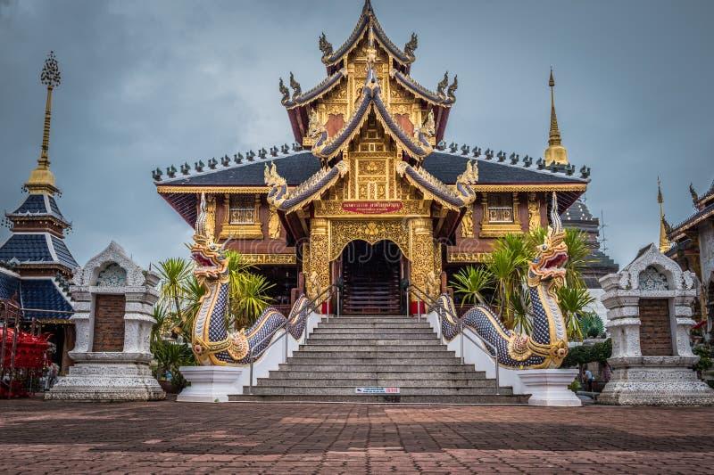 """Ονομασμένο """"Wat κρησφύγετο απαγόρευσης Salee Sri Muang Gan Wat κρησφύγετων """"της Ταϊλάνδης ναός στοκ εικόνες"""