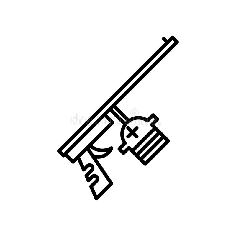 Οξυγονοκολλητών σημάδι και σύμβολο εικονιδίων διανυσματικό που απομονώνονται στο άσπρο υπόβαθρο, έννοια λογότυπων οξυγονοκολλητών ελεύθερη απεικόνιση δικαιώματος
