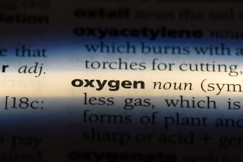 οξυγόνο στοκ φωτογραφίες