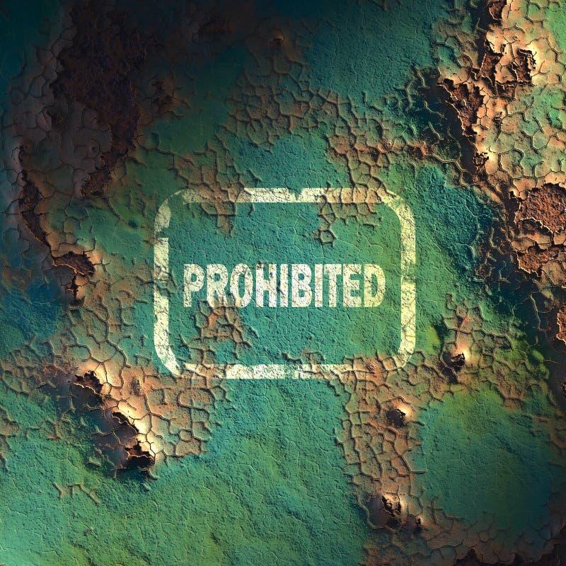 Οξυδωμένη επιφάνεια σιδήρου ελεύθερη απεικόνιση δικαιώματος
