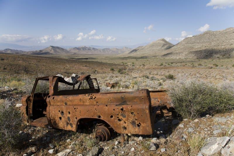 οξυδωμένο truck στοκ εικόνα