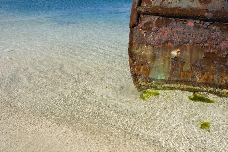 οξυδώνοντας tugboat στοκ εικόνα με δικαίωμα ελεύθερης χρήσης