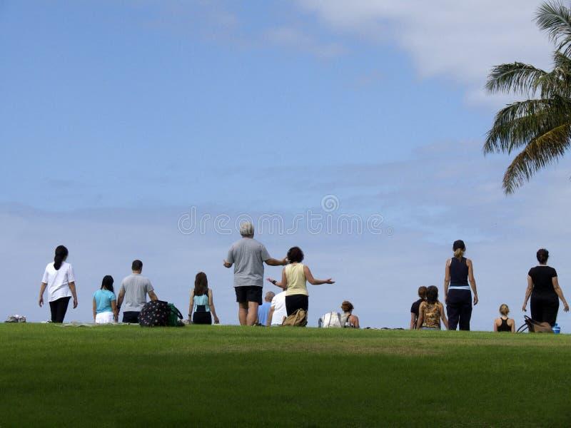 οπαδοί στοκ φωτογραφία με δικαίωμα ελεύθερης χρήσης