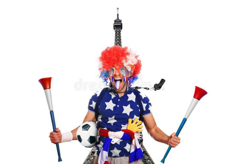 Οπαδός ποδοσφαίρου στοκ φωτογραφία με δικαίωμα ελεύθερης χρήσης