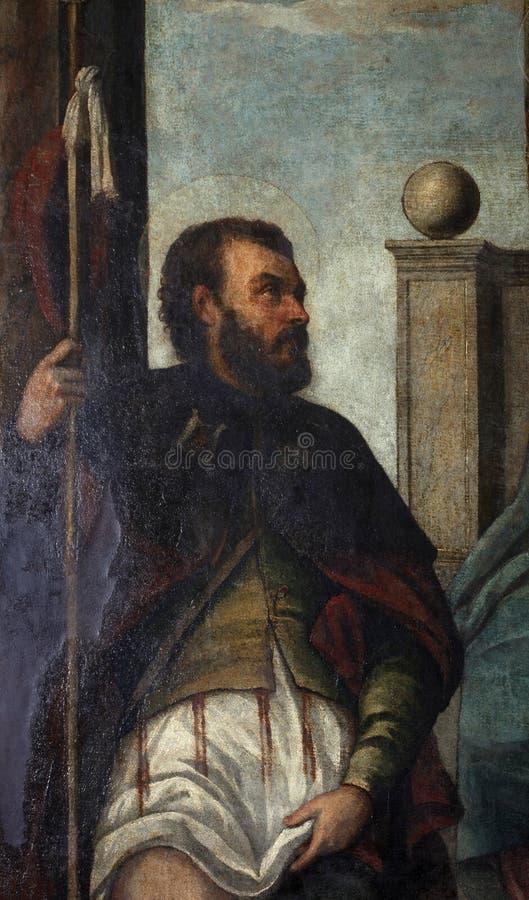 Οπαδός του Tiziano Vecellio: ST Roch στοκ φωτογραφία με δικαίωμα ελεύθερης χρήσης