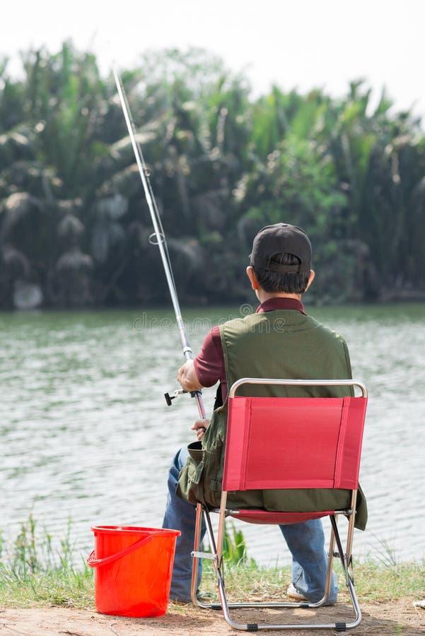 Πραγματικός ψαράς στοκ φωτογραφία με δικαίωμα ελεύθερης χρήσης