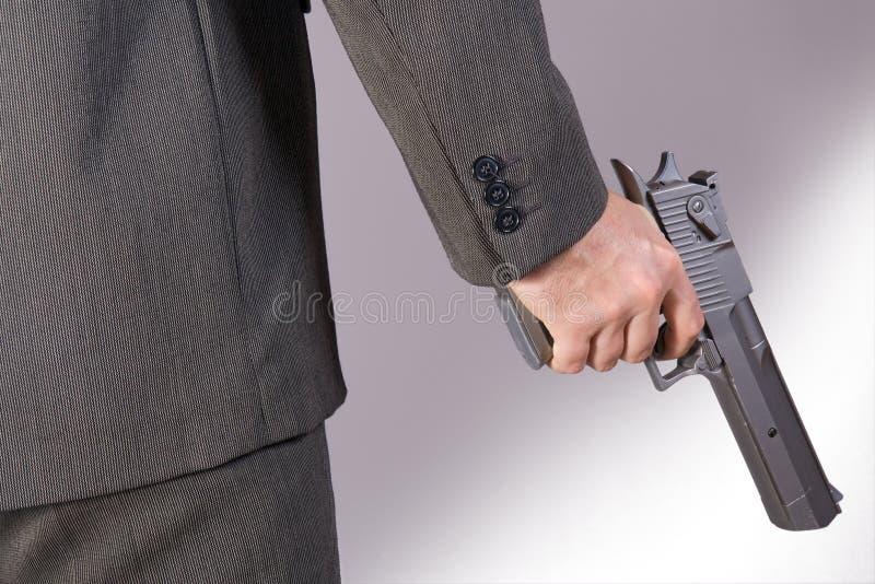οπλισμένο άτομο στοκ φωτογραφία με δικαίωμα ελεύθερης χρήσης