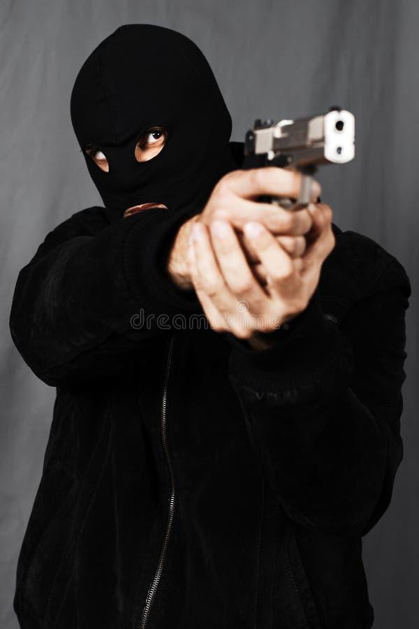 οπλισμένο άτομο στοκ εικόνες