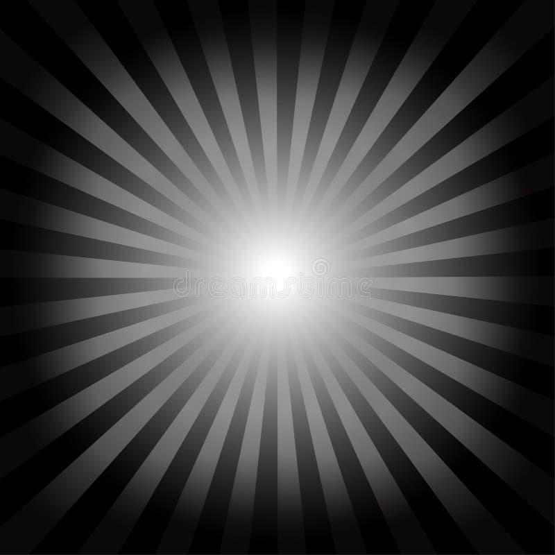 Οπτική ανασκόπηση παραίσθησης διανυσματική απεικόνιση