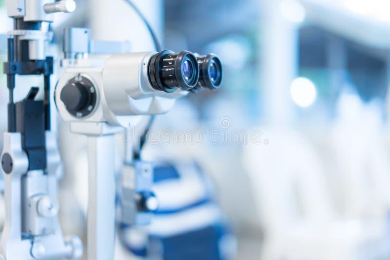 Οπτική επιθεώρηση στο νοσοκομείο για τους ασθενείς μυωπίας στοκ φωτογραφίες με δικαίωμα ελεύθερης χρήσης