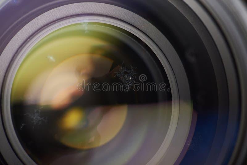 Οπτική επιφάνεια με την ασθένεια μυκήτων στοκ εικόνες