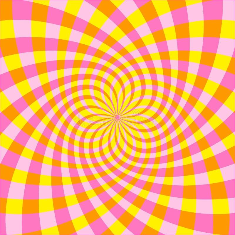 Οπτική παραίσθηση (διάνυσμα) διανυσματική απεικόνιση