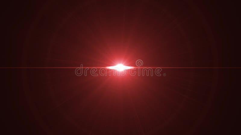 Οπτικός φακός φω'των ήλιων κεντρικών ο περιστρεφόμενος αστεριών καίγεται το λαμπρό νέο ποιοτικό φυσικό φωτισμό βρόχων υποβάθρου τ απεικόνιση αποθεμάτων