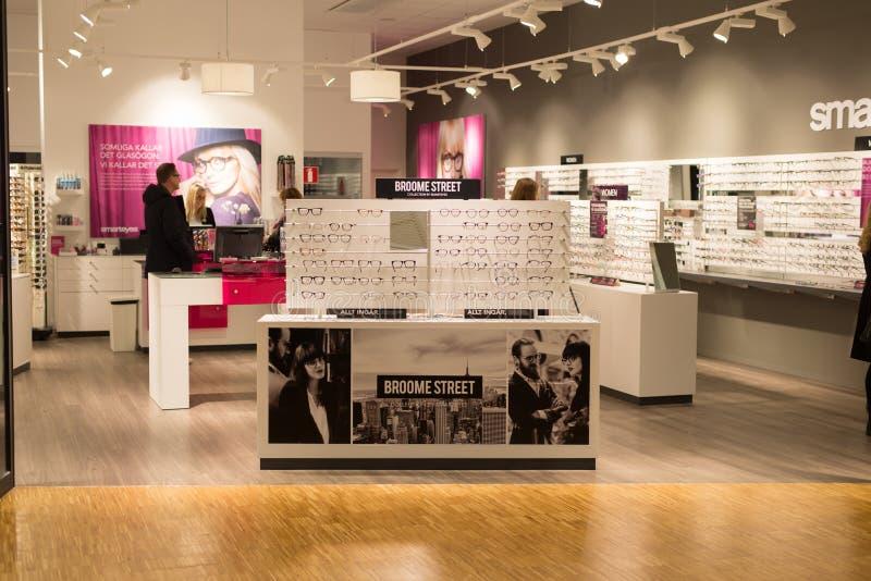 Οπτικό κατάστημα γυαλιών στοκ εικόνα